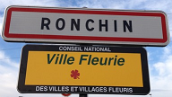 Ronchin ville fleurie png